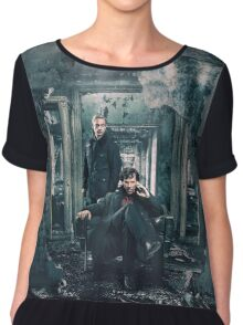 Sherlock and John - Season 4 Chiffon Top