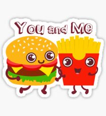 You and me Sticker