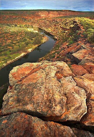 Murchison River, Western Australia by Kevin McGennan