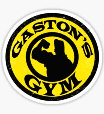 Gaston's Gym Sticker