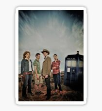 Doctor Who Cast - Season 6 Sticker