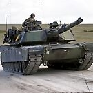 M1A1 Abrams Main Battle Tank by Andrew Harker