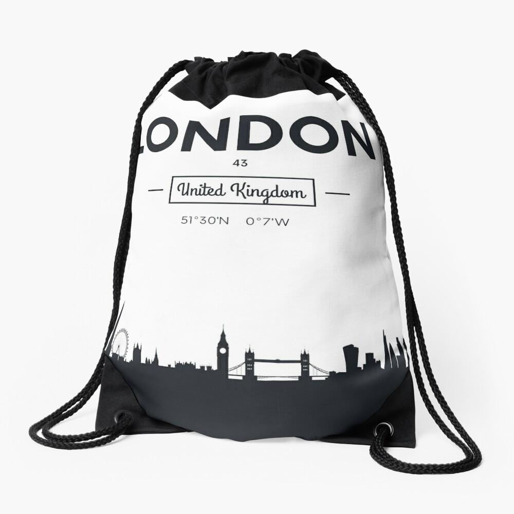 Skyline der Stadt London Turnbeutel