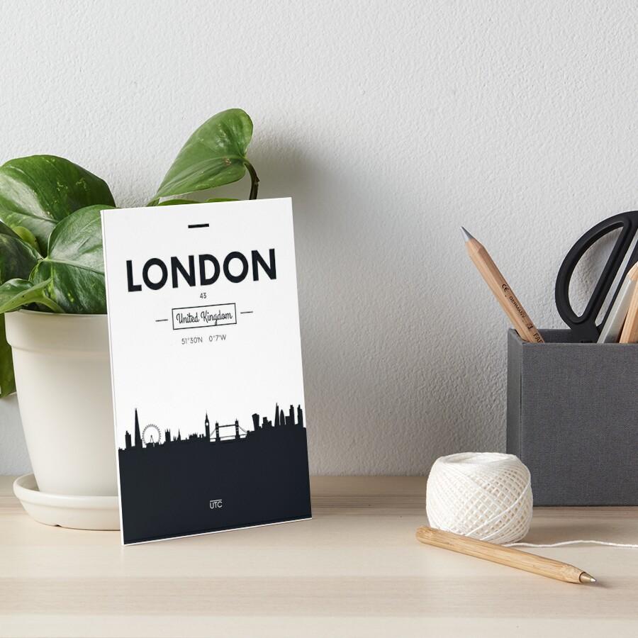 Skyline der Stadt London Galeriedruck