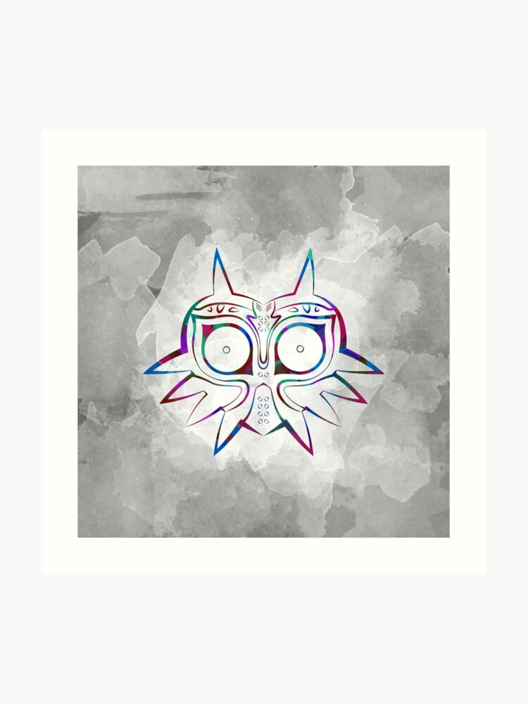 Majora's Mask Lines Color 3 | Art Print