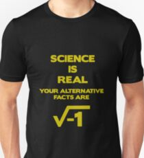 March For Science Science Is Real Unisex T-Shirt