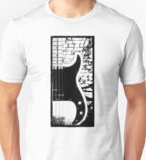 Precision Bass Guitar - Dee Dee Ramone T-Shirt