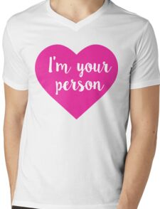 I am your person stickers Mens V-Neck T-Shirt