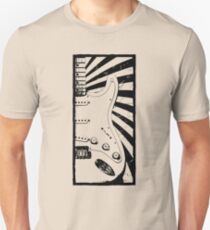 Stratocaster Guitar - Jimi Hendrix Unisex T-Shirt