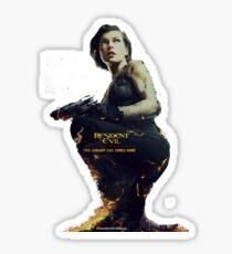 Resident Evil Alice Sticker