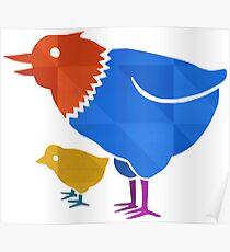 Chicken chick Poster