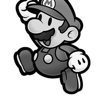 Olde Timey Mario by HHEarthInc