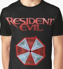 Resident Evil Final Chapters logo Graphic T-Shirt