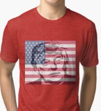Donald Trump The 45th President of the United States Tri-blend T-Shirt