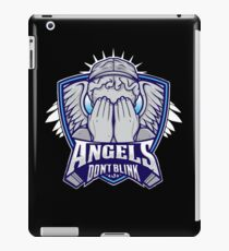 Angels- Don`t Blink iPad Case/Skin