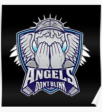 Angels- Don`t Blink Poster