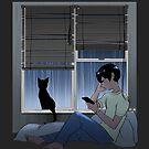 Rain, rain, rain, I don't mind. by starfleetrambo