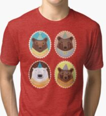 Four Bears Tri-blend T-Shirt