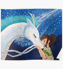 Haku & Chihiro - Dragon Boyfriend Poster