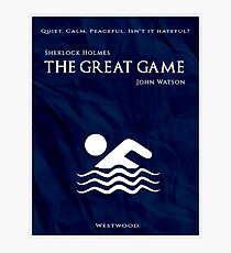 BBC Sherlock - The Great Game Photographic Print