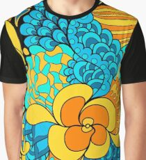 60s hippie psychedelic pattern Graphic T-Shirt