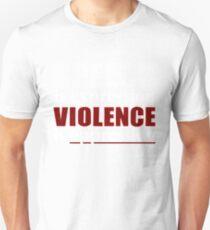 Speech Is Expression, Violence is Oppression - DARK Unisex T-Shirt