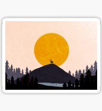 Mountain Top Sticker