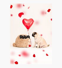 Lovers Photographic Print