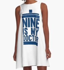 Is Nine your Doctor? A-Line Dress
