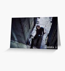 MonstaX Wonho Stuck Greeting Card