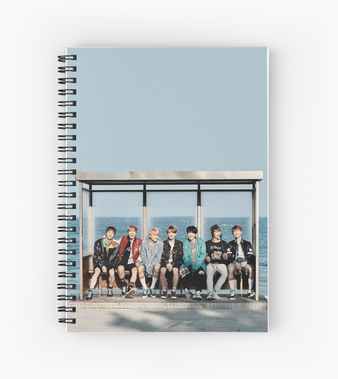 Case Ih Home Decor Quot Bts Ynwa Quot Spiral Notebooks By Mbtae Redbubble