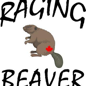 Raging Canadian Beaver by IZZYBEEP