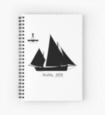 Nobby 1874 by Tony Fernandes Spiral Notebook