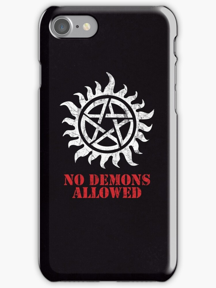 Supernatural No Demons Allowed [WHITE] by Styl0
