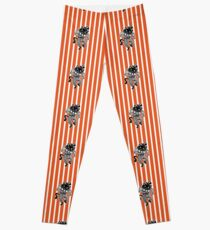 Dancing Halloween Scat Cat Leggings