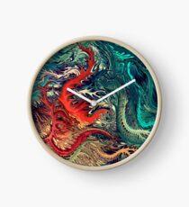 vivid Surrealism by rafi talby Clock