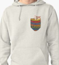 Cat in the pocket Pullover Hoodie