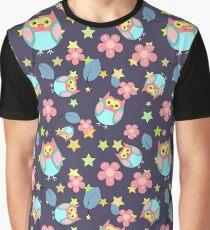 Owl pattern II Graphic T-Shirt