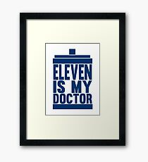 Is Eleven your Doctor? Framed Print