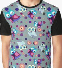 Owl pattern III Graphic T-Shirt