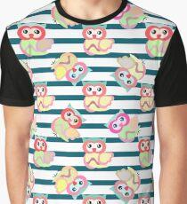 Owl pattern IV Graphic T-Shirt