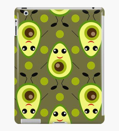 Cute Avocado iPad Case/Skin
