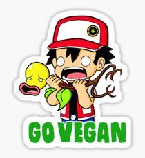 Go vegan! Sticker