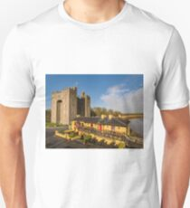 Aerial Bunratty Castle and Durty Nelly's Irish Pub Unisex T-Shirt