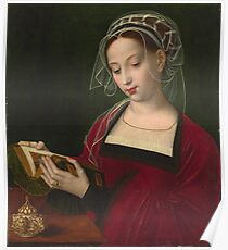 Ambrosius Benson - The Magdalen Reading Poster