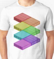 Isometric Rainbow Unisex T-Shirt