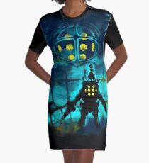 Daddy Graphic T-Shirt Dress