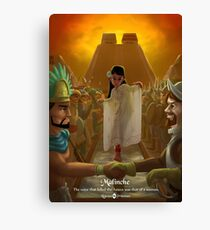 Malinche - Rejected Princesses Canvas Print