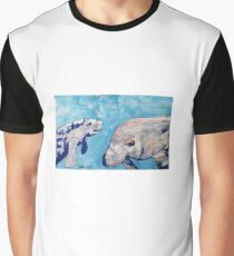 NICE GUYS - MANATEES - PENS Grafik T-Shirt