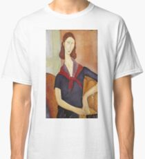 Amedeo Modigliani - Jeanne Hebuterne (With A Scarf) Classic T-Shirt